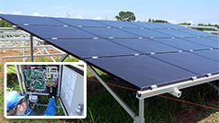 Health Check of Solar Power Generating System